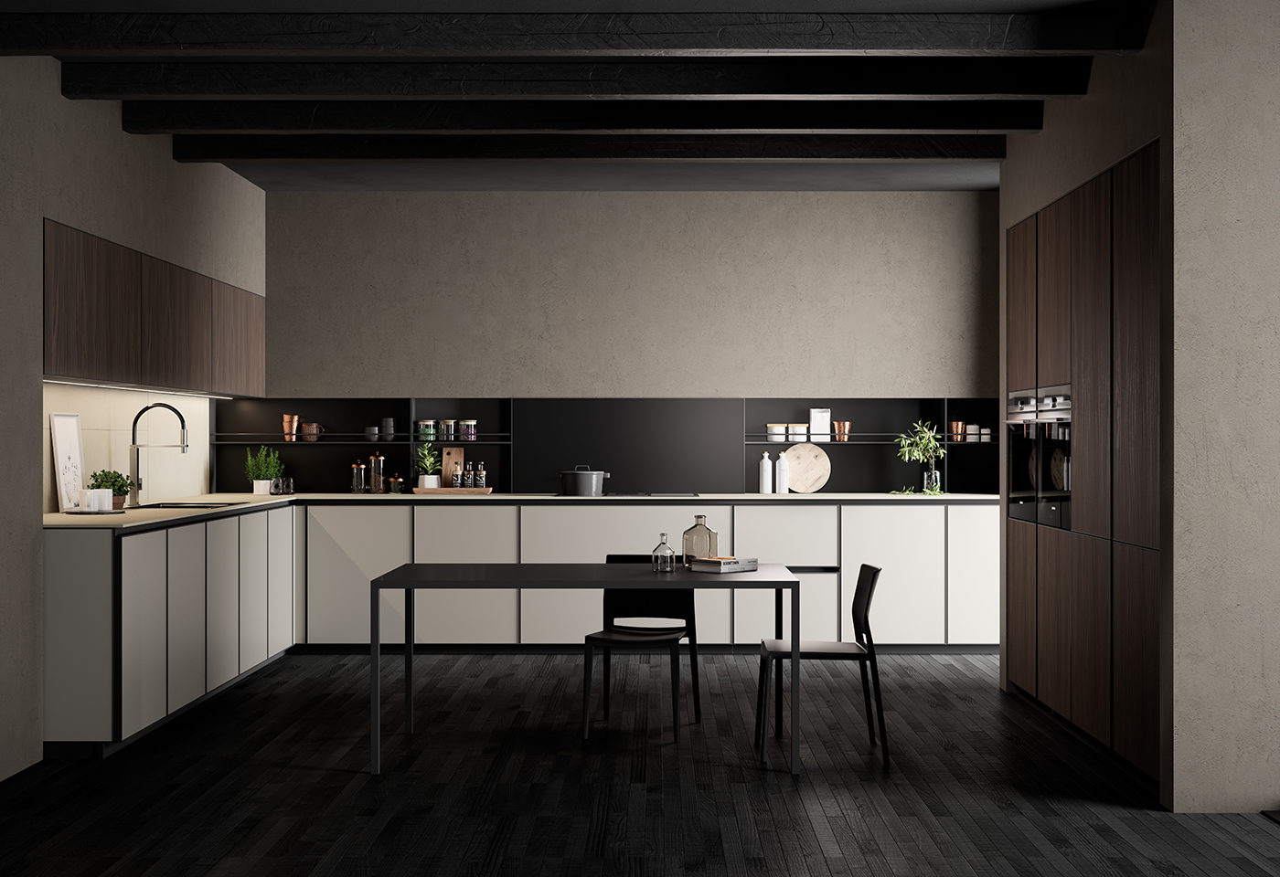 Cuisine contemporaine – Emeraude Design