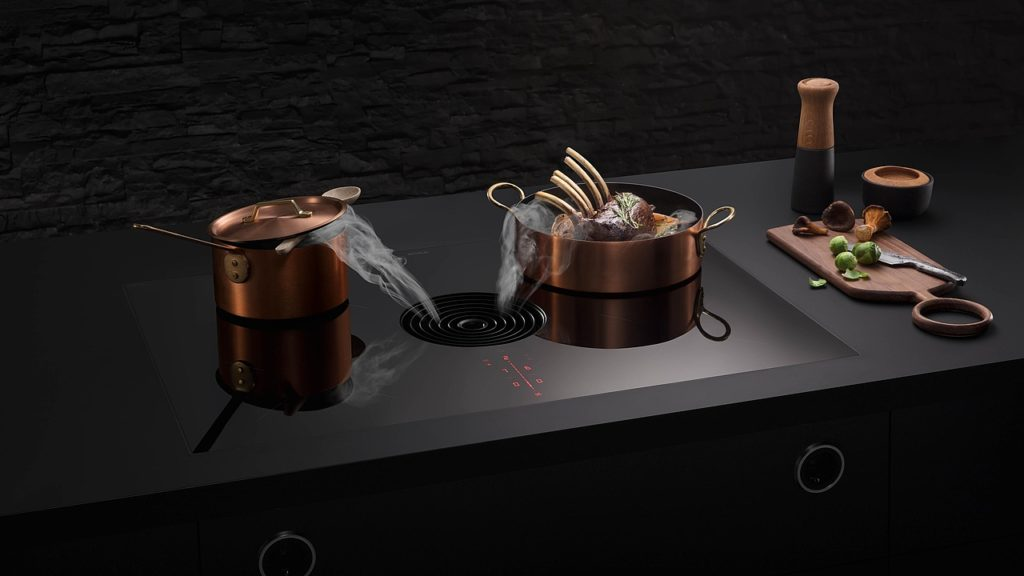 Bora pure - table de cuisson induction avec dispositif aspirant compact